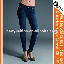 2012 fashion skinny brand women denim jeans wear (HY5614)