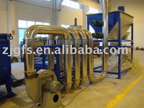 plastic film recycling machinery