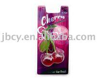 2015 mini cherry air freshener of good plastic material
