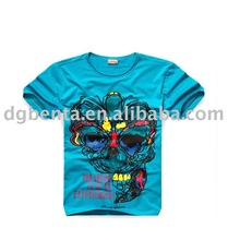 2014 Newest Fashion Cotton Printing T-shirts In Humen