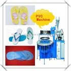 Energy-saving Full automatic One / two color sandals,slippers, plastic shoes injection moulding machine