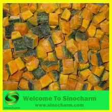 Frozen Diced Pumpkin with skin