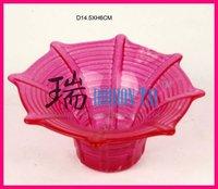Light Pink Umbrella Shape Votive Candle Holder