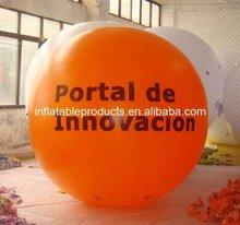 PVC inflatable big size helium balloon