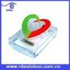 Heart shaped plastic memo holder for pharmacy promotional ABMD005