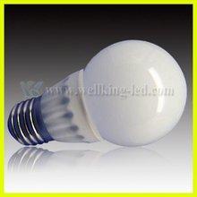 3w G60 Solar energy led Bulb light e12 type b light bulb led tube8 light