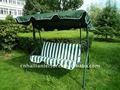 pátio jardim cadeira de balanço