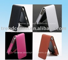 Flip pu leather pouch for iphone 4s