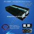 Dc 12 V 24 V para AC 230 V Pure Sine Wave Power Inverter 1500 W