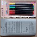 Marcador, marcadores da tela, não- tóxico e marcadores da tela, t- shirt diy marcador caneta marcador permanente de tecido, #fm10