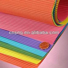 S&Q Colored Corrugated Paper E-B-C-A Flute Corrugated Wrap Rolls