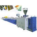 Wpc perfil máquinas para PP / PVC / PE ce, Iso
