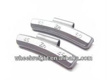 zinc clip-on wheel weights