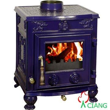 wood fireplace multi-fuel