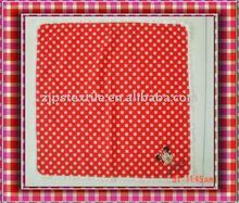 Newest fashion 100% Cotton colorful customized kids' Handkerchiefs,cartoon handkerchief
