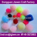 Paquete de valor de acrílico pompones pompones embarcaciones, para pompom bufanda, pompón para la decoración del partido