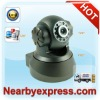 Factory Direct Two-way Audio Pan Tilt Mini WiFi IP Camera