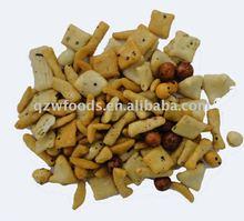 mxied rice crackers