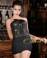 Esther Black Club Dress coktail party dress