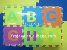 Eva puzzle tappeto, evainterlock stuoia, alfabeto tappeto eva