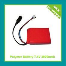 7.4V 3000mAh Digital Photo Frame Battery Pack with PCM