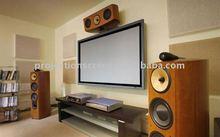 """135""""4:3 Fixed Screen Soft matte white fabric Aluminium Frame, Velvet"""