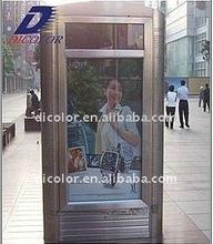 Light box full color led display screen for advertising