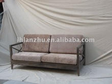 Country style solid wood furniture sofa