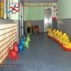 Indoor soft playground floor