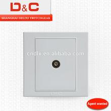 [D&C]Shanghai delixi DC86 series TV socket