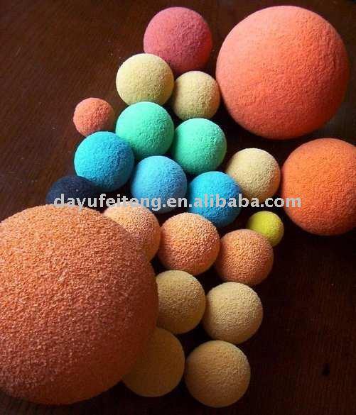 Rubber Sponge Clean-out balls