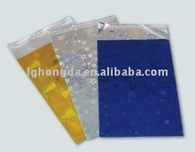 brightness colors laser film bopp gift bags