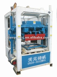 low cost hollow block making machine price, block press machine QTJ4-26D