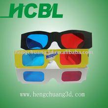 DIY bulk cheap 3D cardboard eyewear paper 3d glasses
