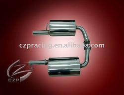 exhaust muffler for MAZDA 6 2.3L L4 Dual Catback 02-07