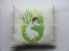 Suede Fabric Cushion