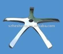 high polish aluminium part for chair in china