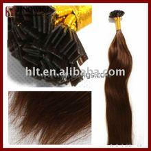 "20""strong keratin brown brush coat tape prebonded hair extension"