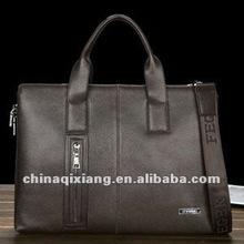fashion men business leather briefcase