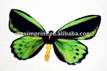 Green Butterfly Art For Wall Decor
