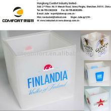 promotion ice cube bowl, white ice block box