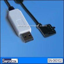eTrex eMap Geko data cable, usb garmin gps cable