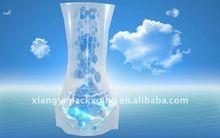Plastic Foldable Flower Vase For Rose