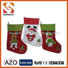 Fashion Christmas Stocking with Gift