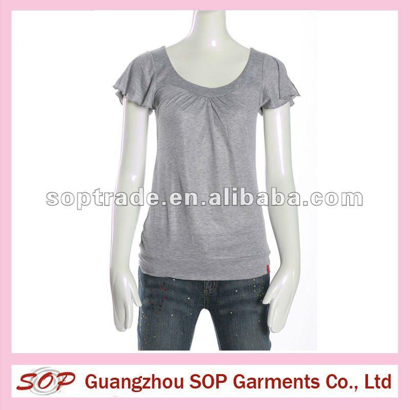2013 más reciente fasion de la blusa diseños