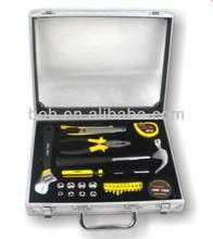 26pcs promotion gift tool set with transparent aluminium case