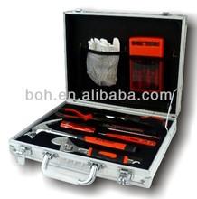 14pcs High quality aluminium case promotion gift tool kit