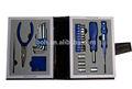 25 pcs herramienta de promoción con conjuntos de libro de cuero caso