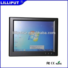 "lilliput 8"" TFT LCD Cheap USB Monitor with 4-wire resistive touch screen UM-80/C/T"