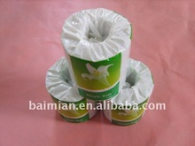 Manufacturer individual wrapped Recycled toilet rolls tissue